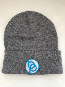 Grey Beanie with Berzerk Logo